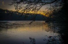 Newmillerdam at Dawn