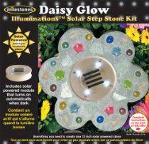 Solar Step Stone Kit-Daisy Glow SKU-PAS1048837