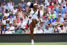 Serena Williams número uno del mundo en el encuentro contra su hermana Venus. | Wimbledon 2015.