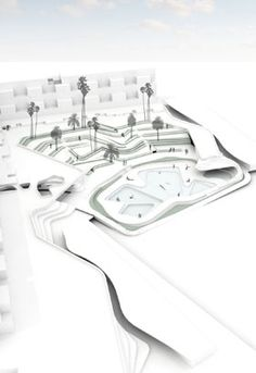 Home - Martha Schwartz Partners Landscape Stairs, Landscape And Urbanism, Commercial Landscape Design, Commercial Architecture, Architecture Graphics, Facade Architecture, Martha Schwartz, Landscape Diagram, Arch Model