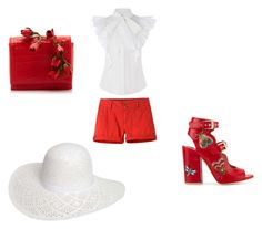 """""""I see amore ❤ red 😍"""" by jenniffer-graf on Polyvore featuring Laurence Dacade, Mountain Khakis, Nancy Gonzalez and Dorothy Perkins"""