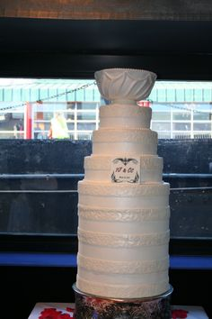 Stanley Cup Wedding Cake,