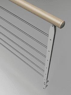 Los pasamanos para escaleras son elementos básicos con los que toda escalera interior o exterior deben contar ¡Entra y descúbrelos con Enesca.es! Fence, Vestidos, Stainless Steel, Wood And Metal