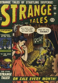 Scott's Classic Comics Corner: My Top 13 Bill Everett Horror Covers | Comics Should Be Good! @ Comic Book Resources