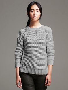 Horizontal Stitch Pullover