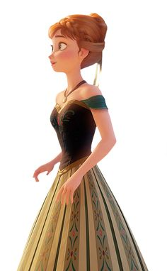 Anna Frozen - Robe de bal