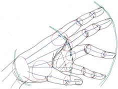 How to draw hands. Drawing tips. Tutorial. Body #anatomy #female #woman #shape #angles