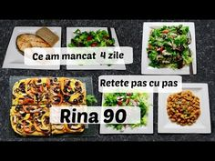 Ep 1 /Ce mananc in 4 zile de Rina / Retete dieta Rina 90 /Dieta Rina/ What i eat to lose weight / Rina Diet, Healthy Style, Diet Recipes, Lose Weight, Health Fitness, Eat, Pula, Food, Sport
