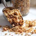 Ginger Cashew Granola