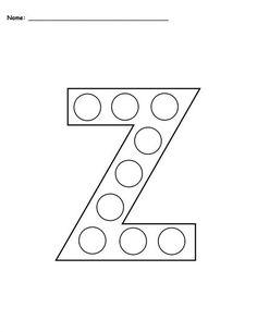 letter z do a dot worksheet ideas for the house worksheets preschool preschool letters. Black Bedroom Furniture Sets. Home Design Ideas