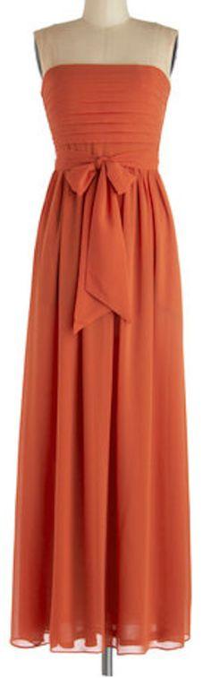 Lovely orange maxi dress http://rstyle.me/n/fp2t8nyg6