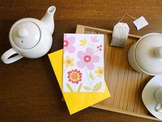 Cartão e envelope Flores, do Atelier Joliz