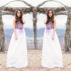 New Sexy Women Summer Long Maxi BOHO Evening Party Beach Dresses Sundress -- BuyinCoins.com