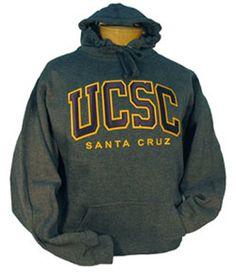 Men's UCSC Tackle Twill Charcoal Hood