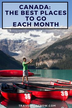 Wondering when is the best time to visit Canada? See this ultimate guide for the best places to go in Canada each month, plus where to stay. Amazing Destinations, Travel Destinations, Travel Tips, Travel Guides, Rv Travel, Travel Stuff, Travel Hacks, Prince Edward Island, Nova Scotia
