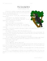 The Greedy Bird -Second Grade Reading Comprehension Test: Use the information in the storytoanswerthe 5 comprehension questions. Answer Key IsIncluded.    The Greedy Bird-SecondGrade Reading Comprehension Test – Click Here    Information: Second Grade Reading Comprehension. 2nd Grade Reading Comprehension Test Practice Worksheet.
