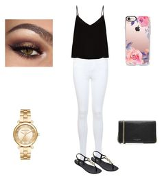 """""""Summer outfit"""" by itsnina101 on Polyvore featuring Miss Selfridge, Raey, IPANEMA, Michael Kors, Casetify and Marc Jacobs"""