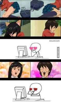 Funny scene !