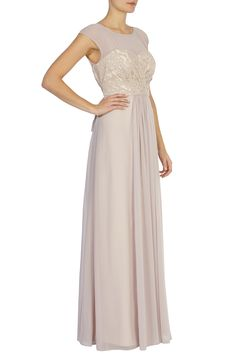 Coast light pink maxi dress