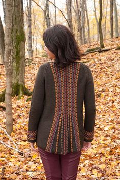 mad dash from twist collective - the back is knitted SIDEWAYS
