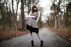Tim Burton Inspired fashion photoshoot