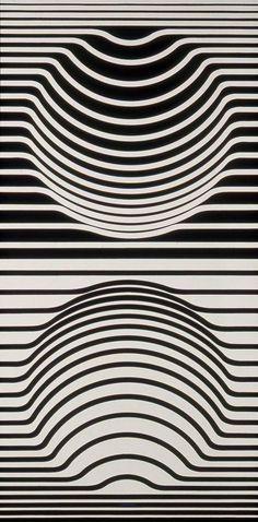 Victor Vasarély, Sir-Ris, ca. 1957 | Artist: Victor Vasarely ...
