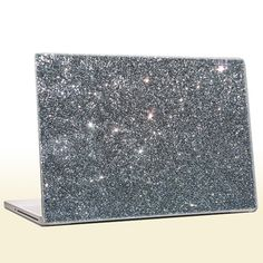 Charcoal  Glitter Laptop Skin extra fine .008 by IridescentBeauty, $40.00