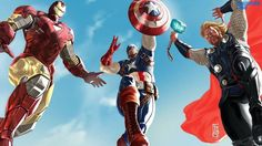 The Avengers Iron Man Captain America And Thor Wallpaper 1600x900 July 25, 2016 Posted by Wallpapers HDa