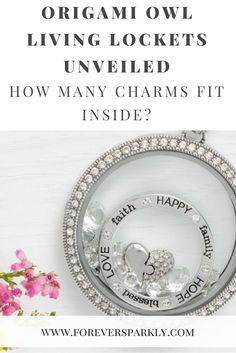 How many charms fit inside an Origami Owl Living Locket? Origami Owl Living Locket   Origami Owl Charms   Origami Owl   Origami Owl Legacy   Origami Owl Discount   Email kristy@foreversparkly.com for a free gift!