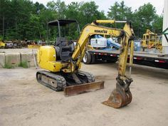 Komatsu Mini Excavators    http://www.rockanddirt.com/equipment-for-sale/KOMATSU/excavators-mini