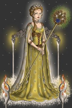 Hera, goddess of women and marriage ~ by Kytheira ~ created using the LotR Hobbit doll maker | DollDivine.com