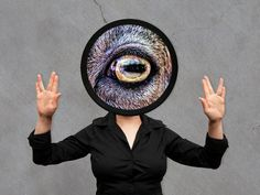 "Art Print on Vinyl ""Eye"" by MountDoomPD on Etsy"