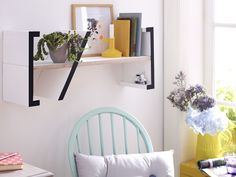 Tutoriais de prateleiras funcionais e criativas para você fazer (DIY) e decorar sua casa com muito mais estilo. Inspire-se com dezenas de fotos.