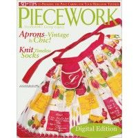 PieceWork, January/February 2006 (Digital Edition) | InterweaveStore.com