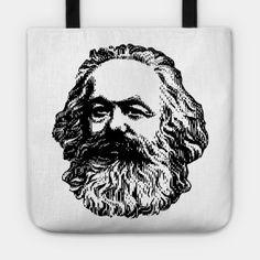 KARL MARX - Karl Marx Portrait - T-Shirt | TeePublic