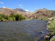 Salmon River from Salmon River RV Park, Idaho
