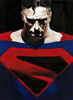 Alex Ross Kingdom Come, Dc Comics, Wonder Woman Art, Adventures Of Superman, Super Man, Batman And Superman, Man Of Steel, Dc Heroes, Henry Cavill