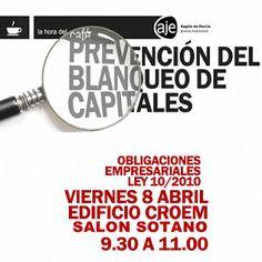 Blog de AJE Región de Murcia_ PREVENCIÓN DEL BLANQUEO DE CAPITALES