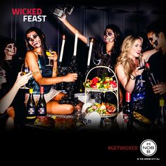 Throwing a good party means getting wicked! #WickedFeast