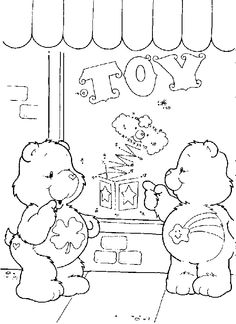 wish bear coloring pages - photo#22