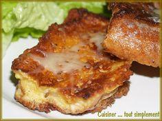 Pain Perdu Salé au Comté et au Cumin ... pour utiliser votre pain rassis - Cuisiner... tout Simplement, Le Blog de cuisine de Nathalie
