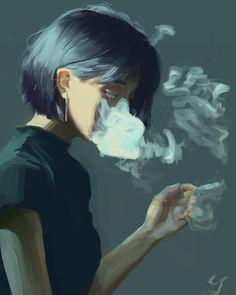 Digital Art Girl, Digital Portrait, Portrait Art, Surreal Artwork, Drawn Art, Sad Art, Anime Art Girl, Aesthetic Art, Female Art