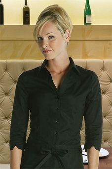 Ladies Fitted 3/4 Sleeve Blouse  .... $24.95
