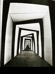 Set design for 'The Cabinet of Dr. Caligari', 1920.