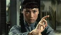 Angela Mao was the world's first female action star to be officially labelled as such. Nicknamed Lady Whirlwind and Lady Kung Fu by her fans, Angela Mao trained in hapkido, kung fu, tae kwon do, and other forms of martial arts during her film career to prepare for her movie roles, and was paid only one hundred dollars for her short role in the feature film Enter the Dragon!