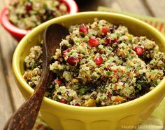 Quinoa Salad with Currants and Pistachios (by Chef AJ)