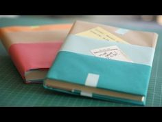 How to Make Textbook Covers || KIN PARENTS, My Crafts and DIY Projects