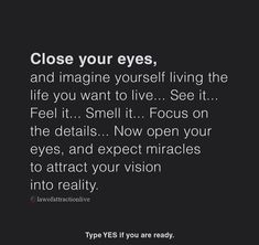 If you believe in law of Attraction than double tap now to learn Positive Thoughts, Positive Quotes, Motivational Quotes, Inspirational Quotes, Quotes To Live By, Life Quotes, Law Of Attraction Affirmations, New Energy, Affirmation Quotes