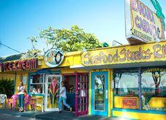 Banana Cabana Caribbean Grill. the best restaurant on Anna Maria island.