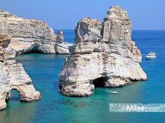 Milos Photos - Featured Images of Milos, Cyclades - TripAdvisor Dream Vacation Spots, Vacation Places, Vacation Destinations, Dream Vacations, Places To Travel, Oh The Places You'll Go, Places To Visit, Attraction, Greek Islands